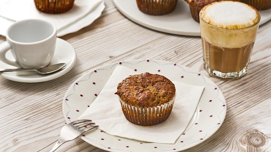 Vegane Cranberry-Schoko-Muffins