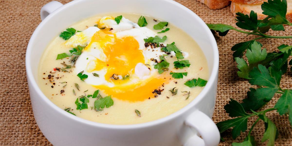 Puré de papas con Huevo