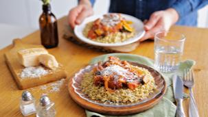 Ratatouille Gemüse mit Quinoa