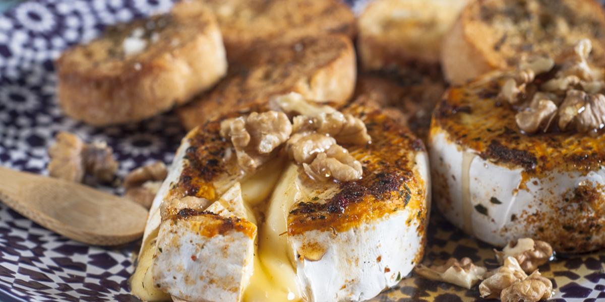 Queso Camembert Asado al Sartén