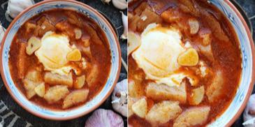 Sopa de ajo – hiszpańska zupa czosnkowa