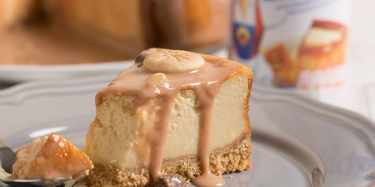 Cheesecake de Habichuelas con Dulce