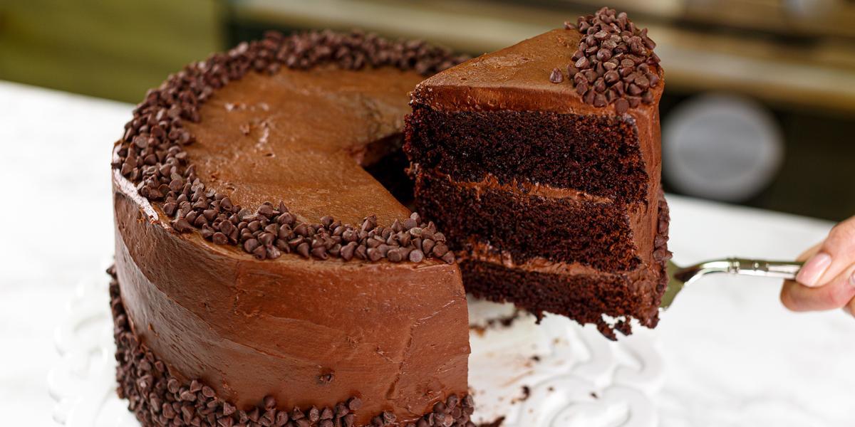 Overhead Cake Slice