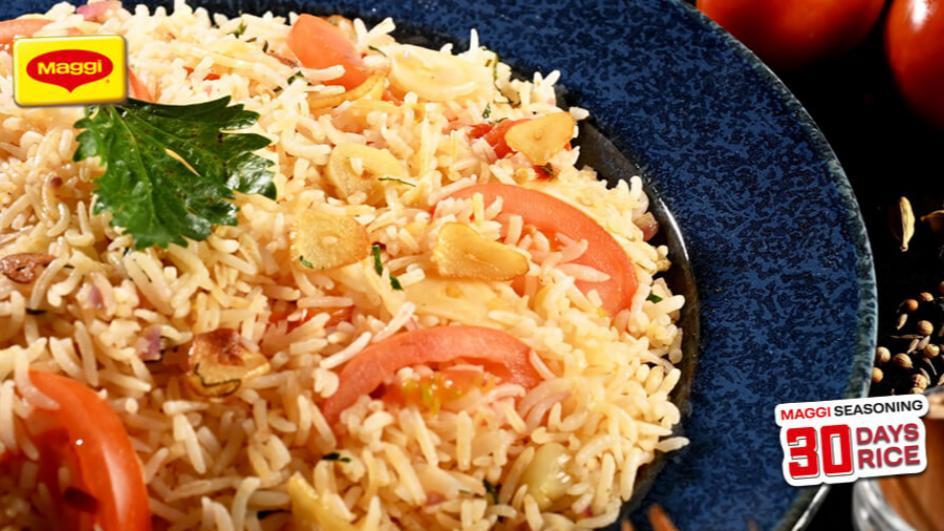 Tomato and Garlic Rice