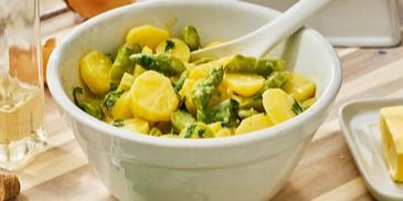 Warmer Spargel-Kartoffel-Salat