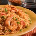 Hot garlic Prawn Rice