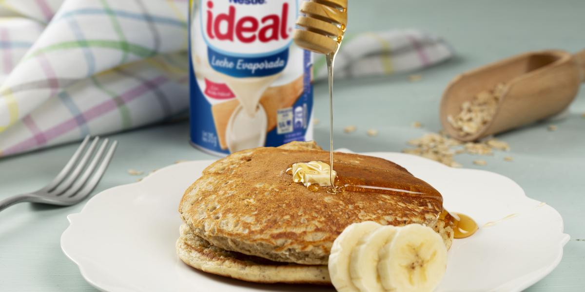 Pancakes de Banana y Avena