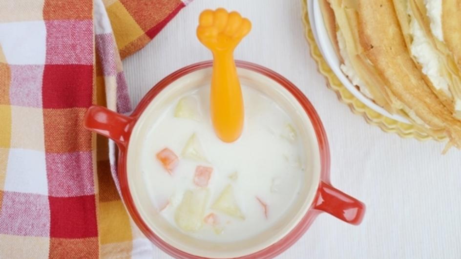 Zupa maślankowa dla dzieci – przepis czytelniczki