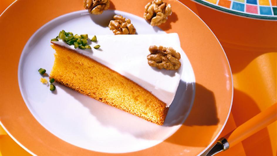 Schnelle Karotten-Torte