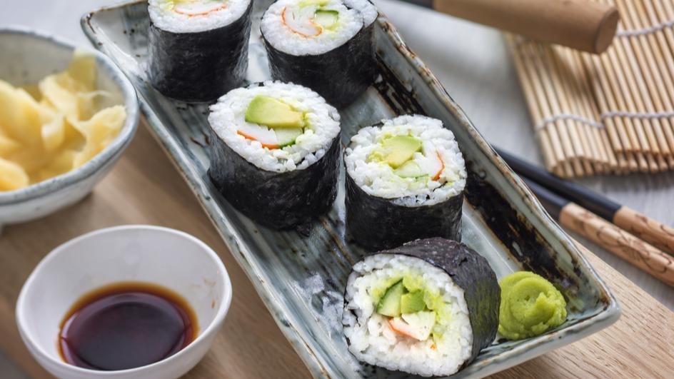 Sushi Californiarolls