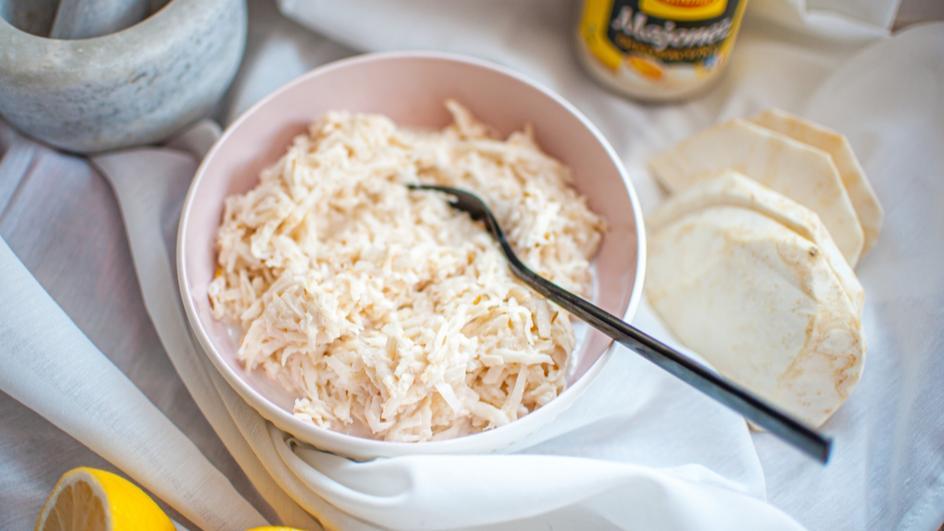 Surówka z selera z gruszką