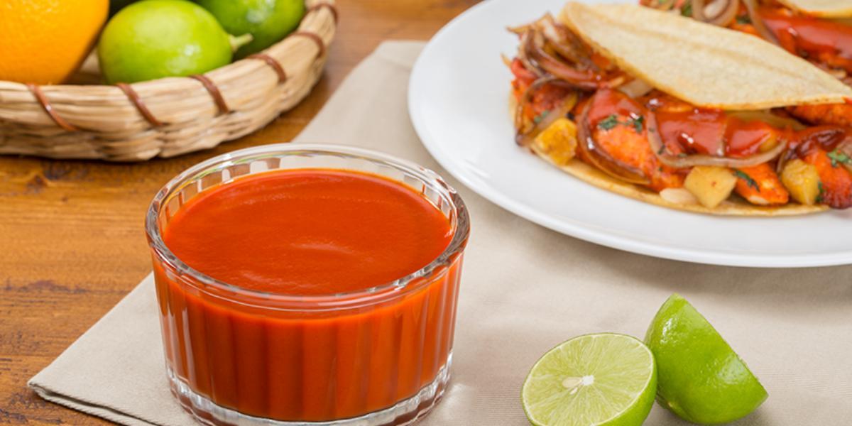 Salsa cítrica para tacos de pescado
