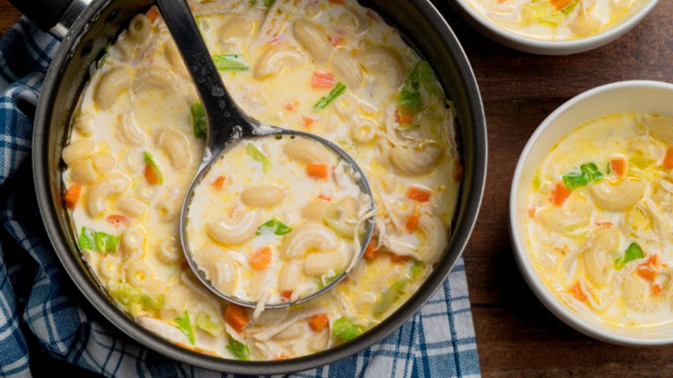 Creamy Chicken Sopas