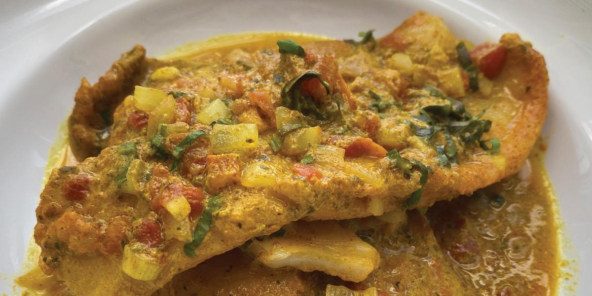 Coconut Curried Fish 2