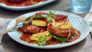 Kofta Bil-Siniyah (Kofta met aardappel uit de oven)