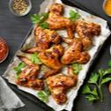Karamelizovaná křídla s česnekem