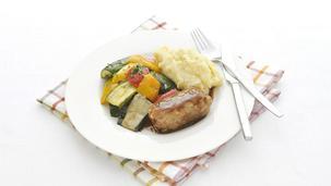 Hollandse slavink met Italiaanse groente
