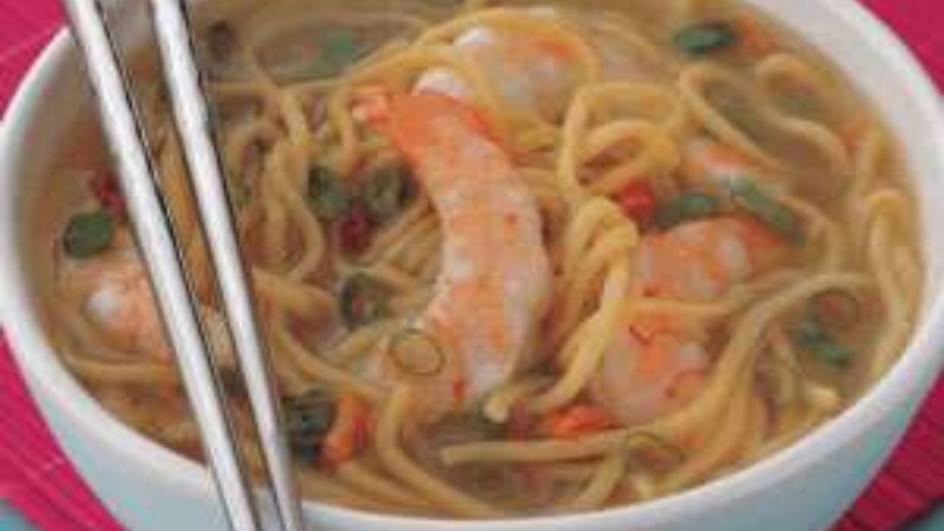 Chinese Prawns Soup