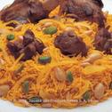Saudi Rice with Lamb - Rice Kabli
