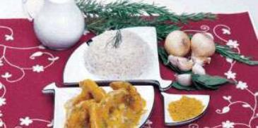 Coconut Curry Shrimps