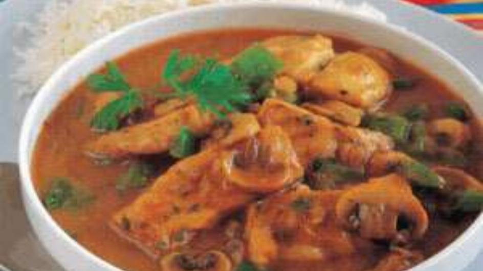 Fish and Mushroom Stew