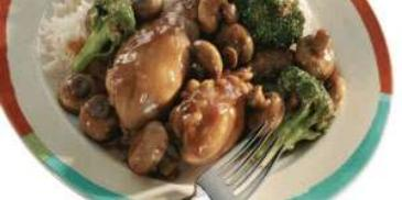 Chicken and Broccoli Stew
