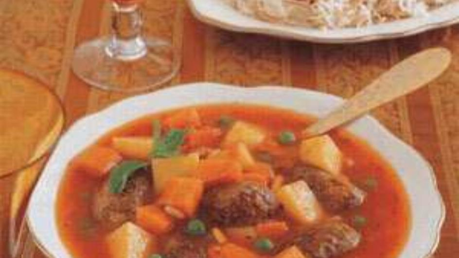 Kofta Stew