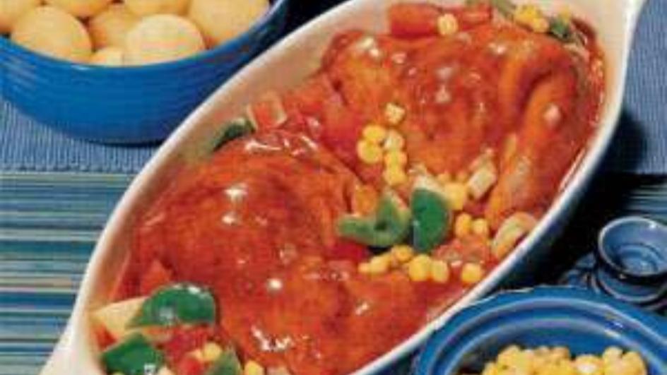 Spicy Caribbean Chicken Stew