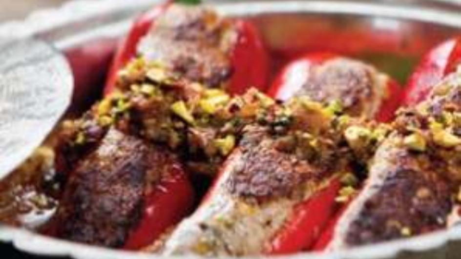 Chicken Pepper Dolma