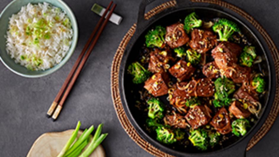 Chinese Beef & Broccoli