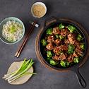 اللحم والبروكلي على الطريقة الصينية