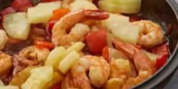 Chinese Sweet & Sour Shrimp