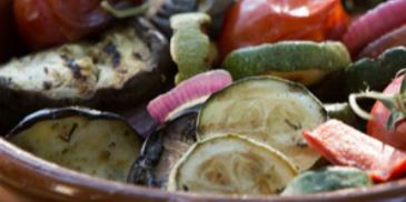Oven Roasted Garden Vegetables