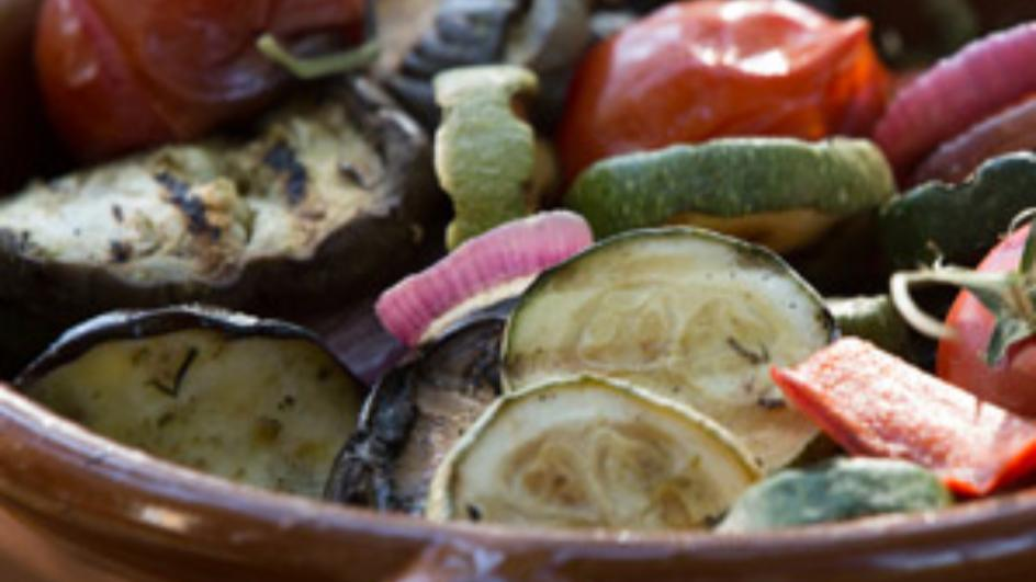 Oven Roasted Garden Vegetables