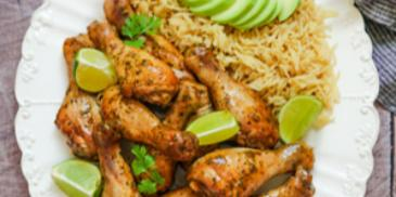 دجاج مشوي بالأعشاب العطرية