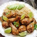 Lemon Garlic Chicken with Coriander