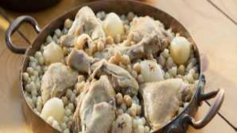 Chicken Moghrabieh