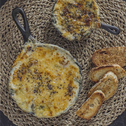 Spinach and Onion Béchamel Dip