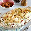 Rice & Chicken Fatteh