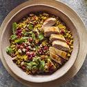 Freekeh Salad with Garden Vegetables & Herbs
