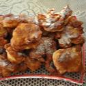 Drożdżowe racuchy z jabłkami