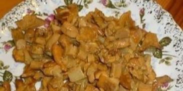 Kurki smażone z cebulką