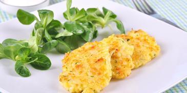 Placuszki z ryżu i sera