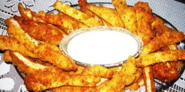 Kurczak w bułce tartej nuggetsy
