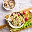 Salata orientala de post