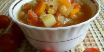 Zupa z cieciorką