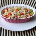 Kasza perłowa z warzywami