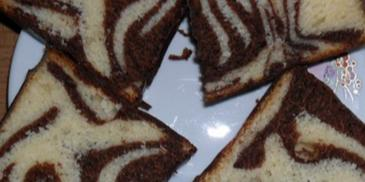 Ciasto ucierane z kakao
