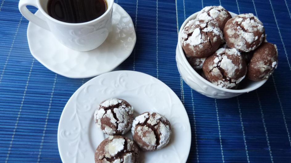 Kakaowe ciasteczka z nutellą