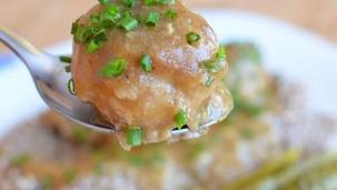 Pulpeciki w sosie pieczeniowym